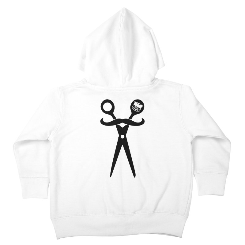 Scissors Kids Toddler Zip-Up Hoody by pluko's Artist Shop