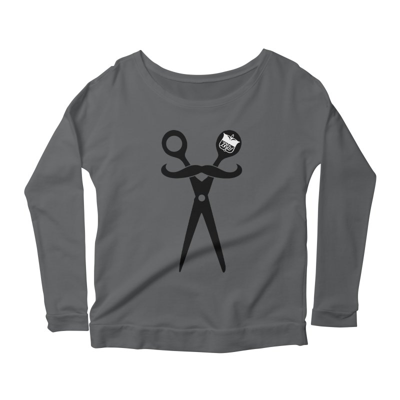 Scissors Women's Scoop Neck Longsleeve T-Shirt by pluko's Artist Shop