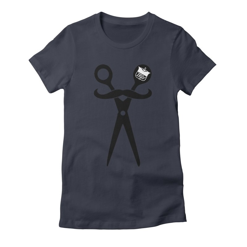 Scissors Women's Fitted T-Shirt by pluko's Artist Shop