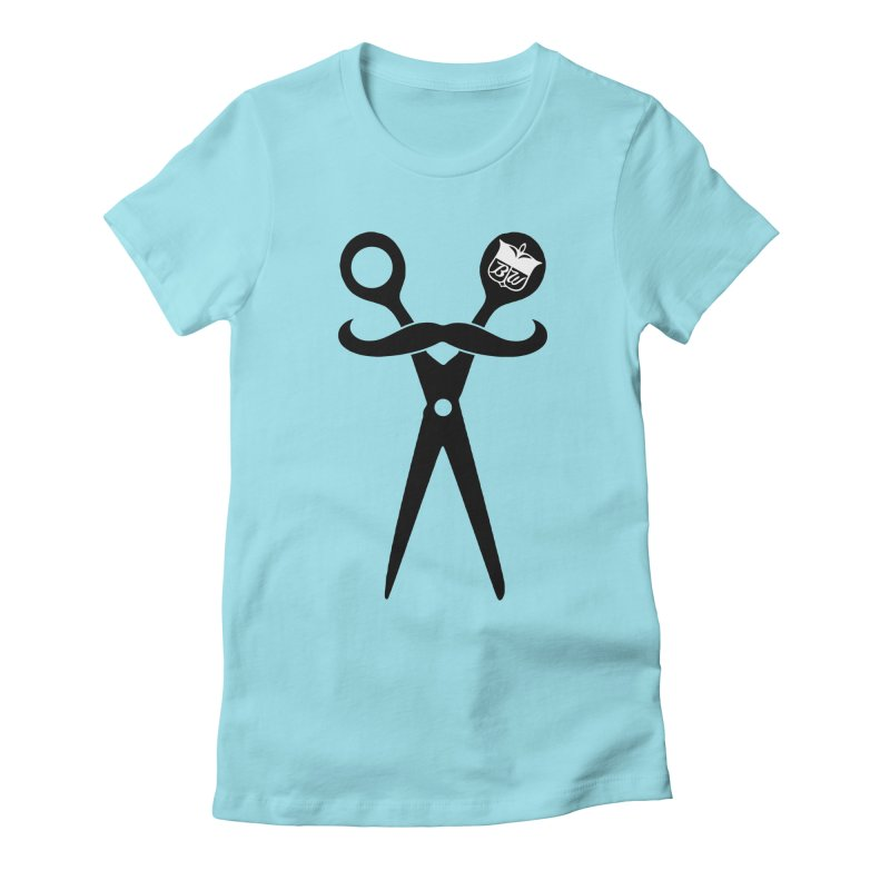 Scissors Women's Fitted T-Shirt by pluko's Artist Shop