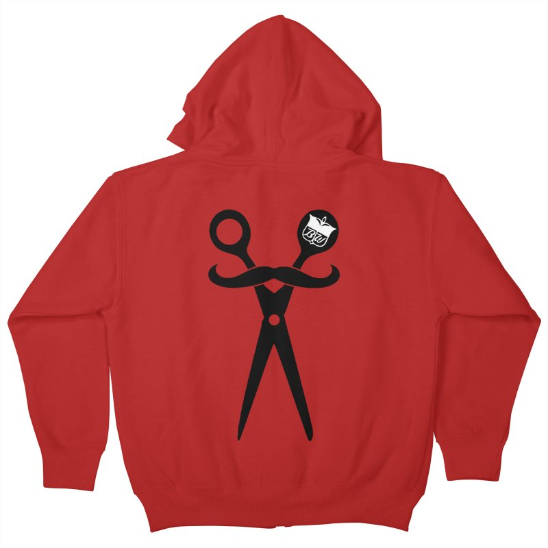 Scissors Kids Zip-Up Hoody by pluko's Artist Shop