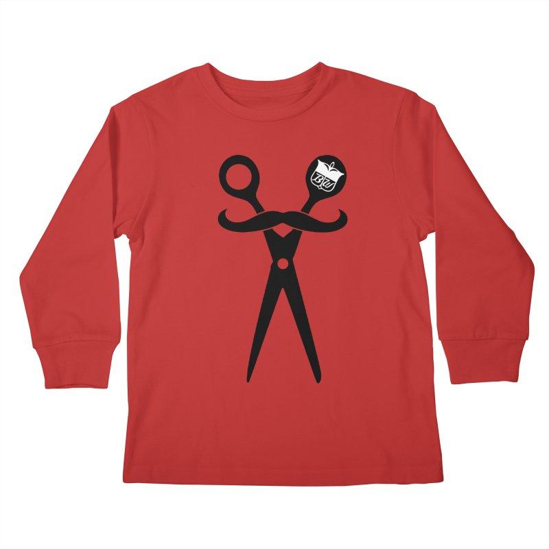Scissors Kids Longsleeve T-Shirt by pluko's Artist Shop