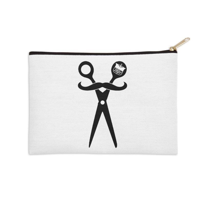 Scissors Accessories Zip Pouch by pluko's Artist Shop