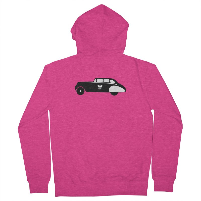 Grease Women's French Terry Zip-Up Hoody by pluko's Artist Shop