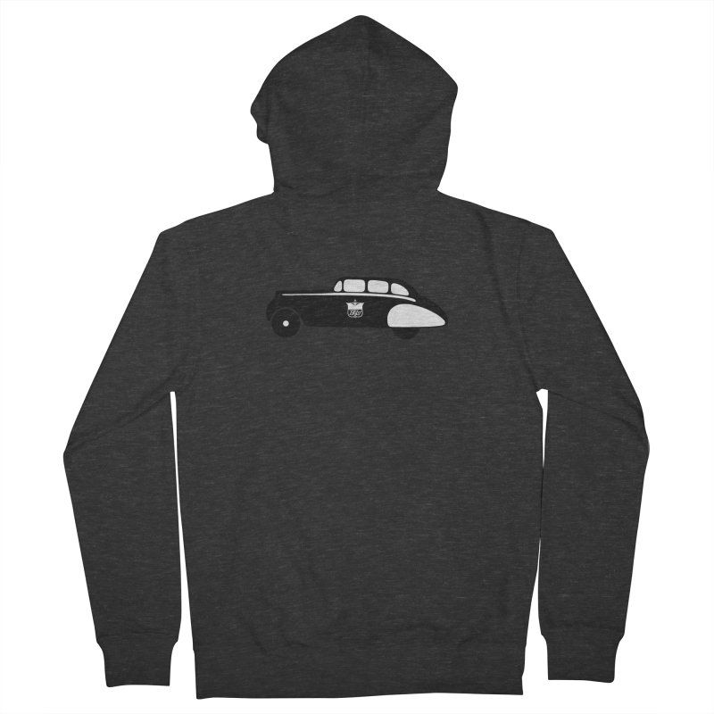 Grease Men's French Terry Zip-Up Hoody by pluko's Artist Shop