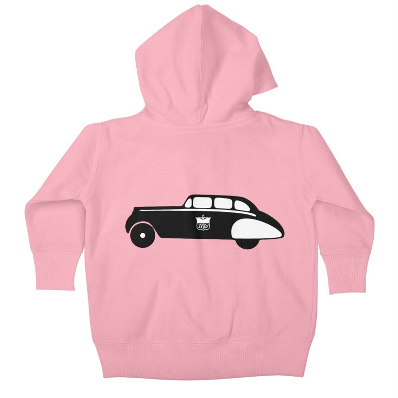 Grease Kids Baby Zip-Up Hoody by pluko's Artist Shop
