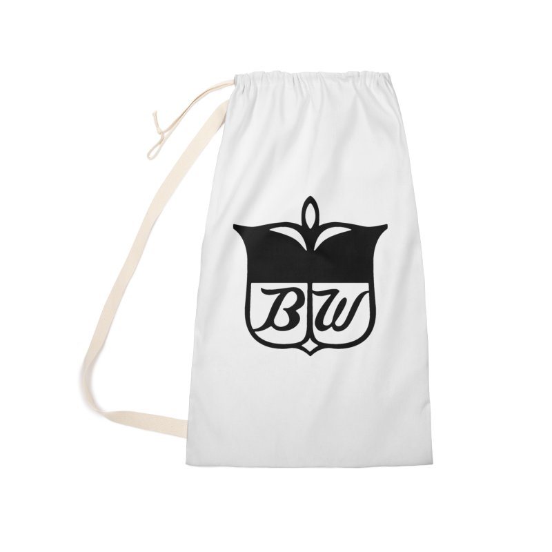 Shield Accessories Laundry Bag Bag by pluko's Artist Shop
