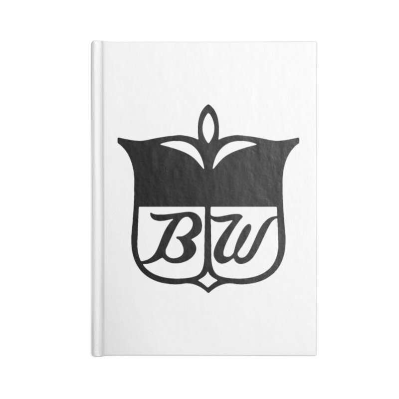 Shield Accessories Blank Journal Notebook by pluko's Artist Shop