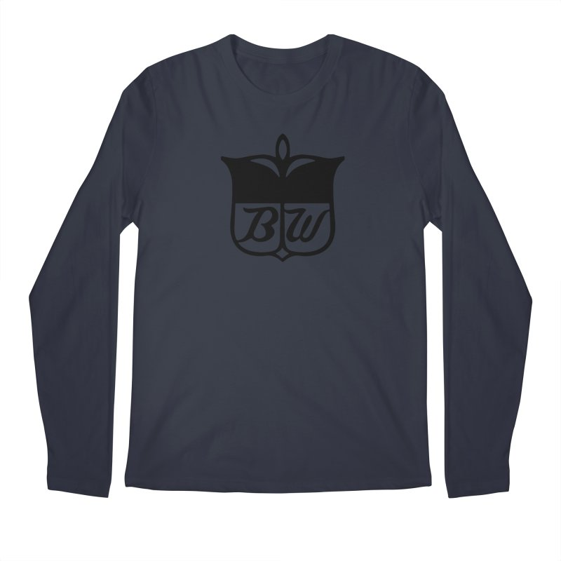 Shield Men's Regular Longsleeve T-Shirt by pluko's Artist Shop
