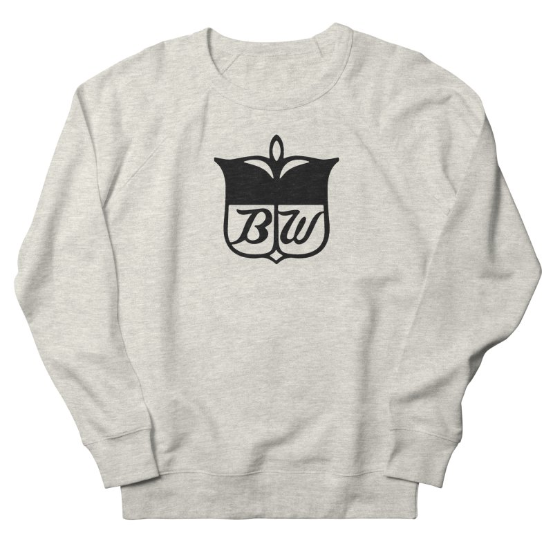 Shield in Men's French Terry Sweatshirt Heather Oatmeal by pluko's Artist Shop