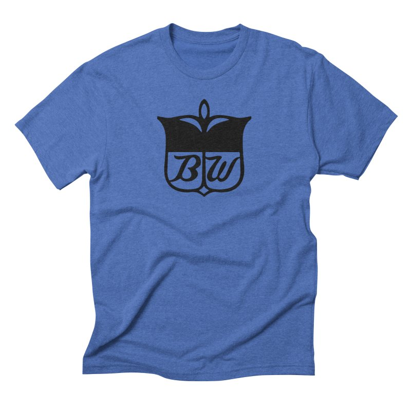 Shield Men's Triblend T-Shirt by pluko's Artist Shop