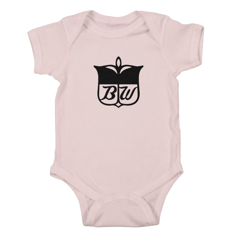 Shield Kids Baby Bodysuit by pluko's Artist Shop