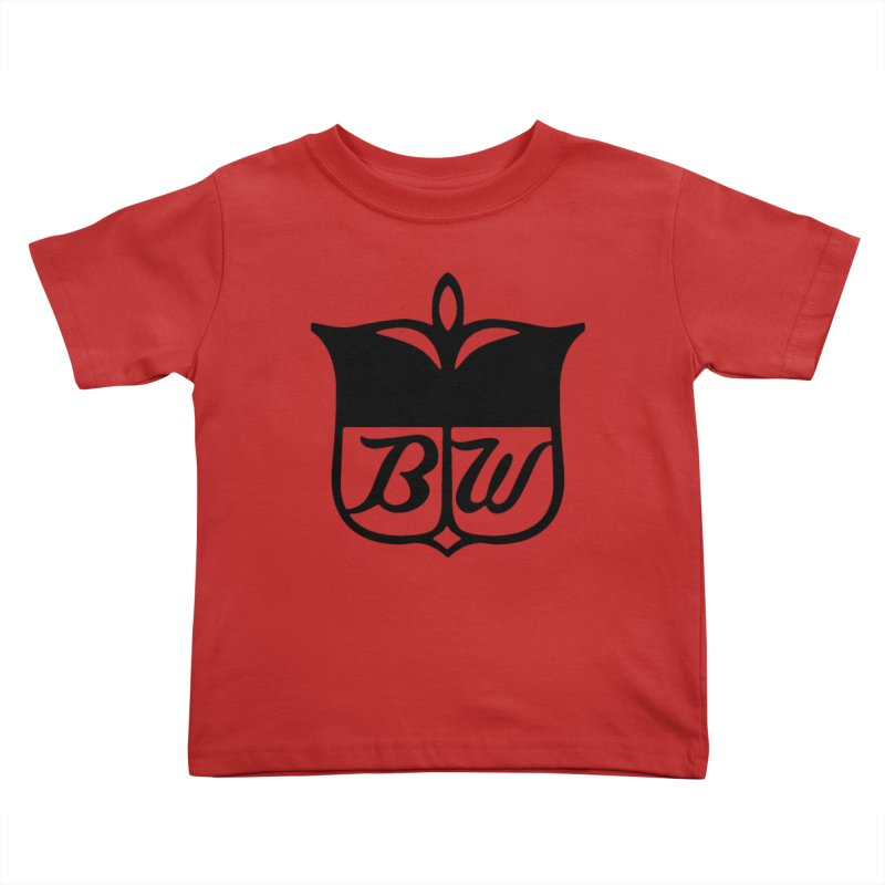 Shield Kids Toddler T-Shirt by pluko's Artist Shop