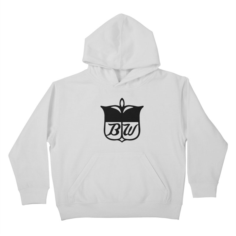 Shield Kids Pullover Hoody by pluko's Artist Shop