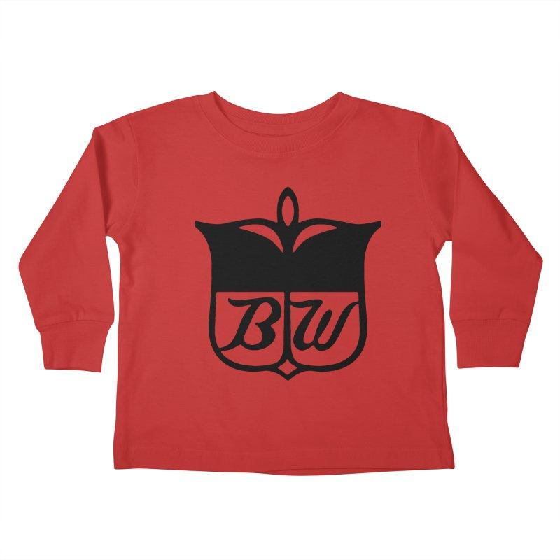 Shield Kids Toddler Longsleeve T-Shirt by pluko's Artist Shop