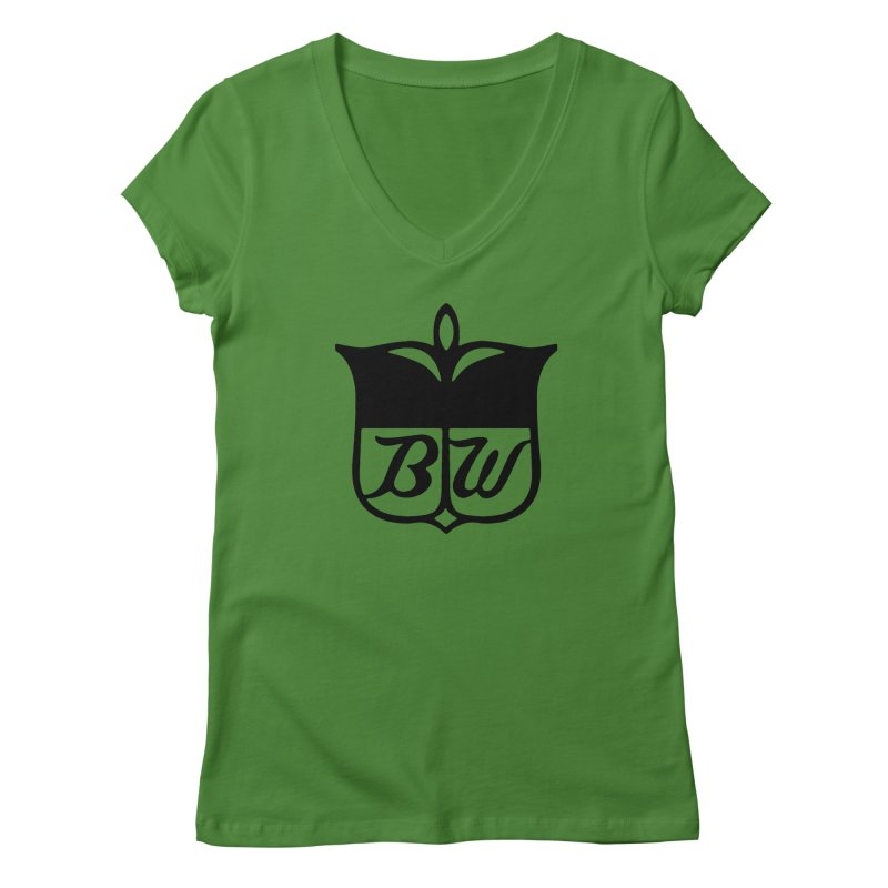 Shield Women's Regular V-Neck by pluko's Artist Shop