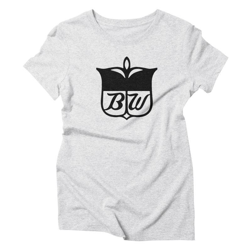 Shield Women's Triblend T-Shirt by pluko's Artist Shop
