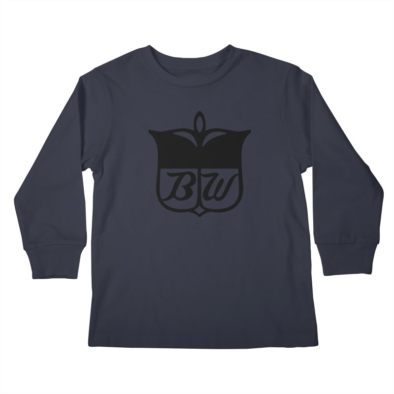 Shield Kids Longsleeve T-Shirt by pluko's Artist Shop