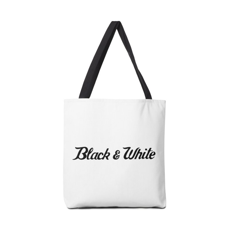Black & White Accessories Bag by pluko's Artist Shop
