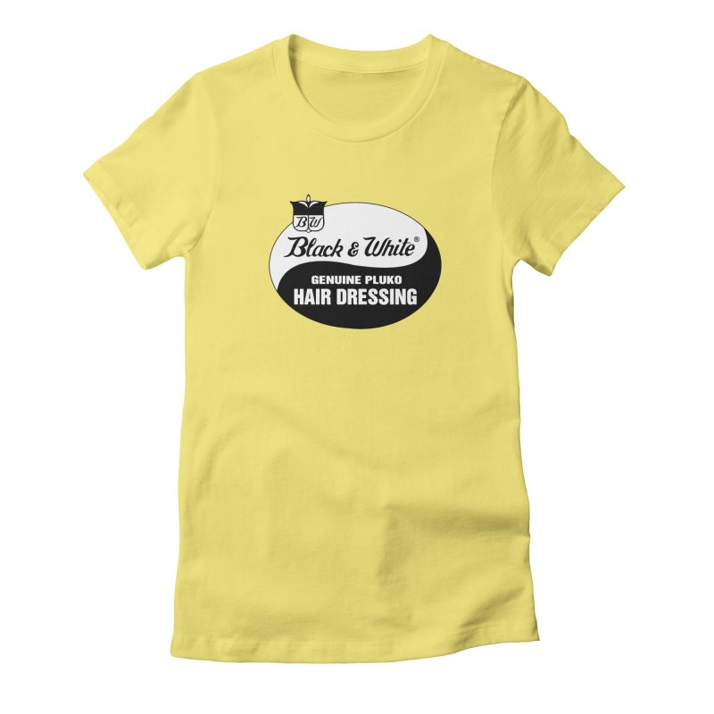 Genuine Pluko Women's Fitted T-Shirt by pluko's Artist Shop