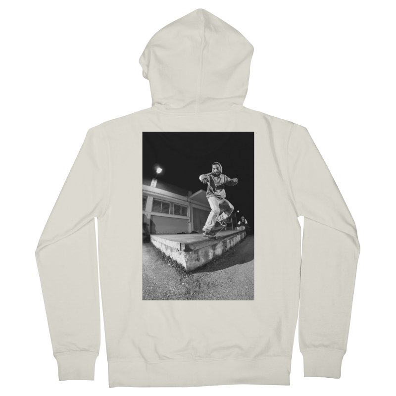 Session nights ~ clothing Men's French Terry Zip-Up Hoody by PMallior's Artist Shop