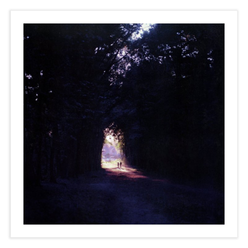 Into the forest ~ High quality print Home Fine Art Print by PMallior's Artist Shop