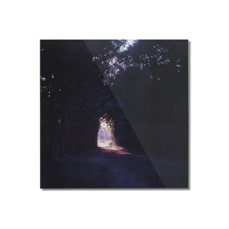 Into the forest ~ High quality print Home Mounted Acrylic Print by PMallior's Artist Shop