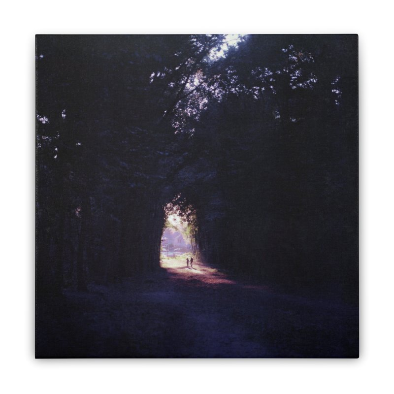 Into the forest ~ High quality print Home Stretched Canvas by PMallior's Artist Shop