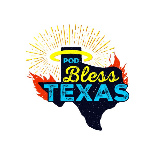 image for Pod Bless Texas Logo
