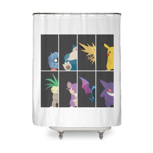 Shop Pokemon On Threadless Home Shower Curtain