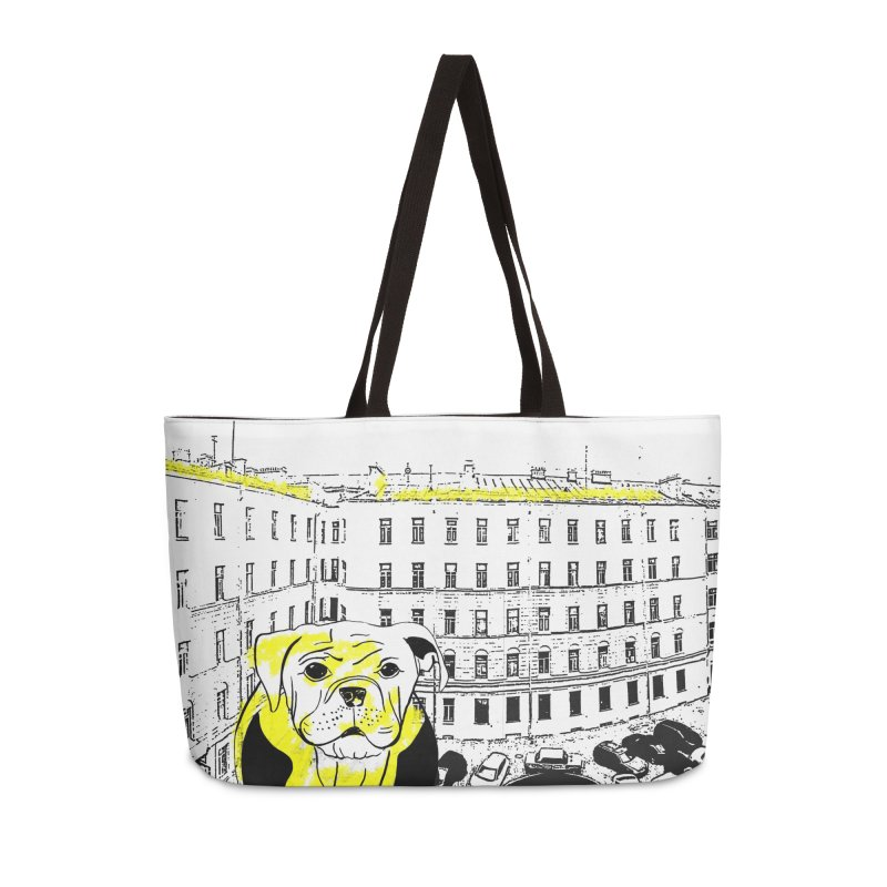 bulldog Accessories Weekender Bag Bag by cutearts