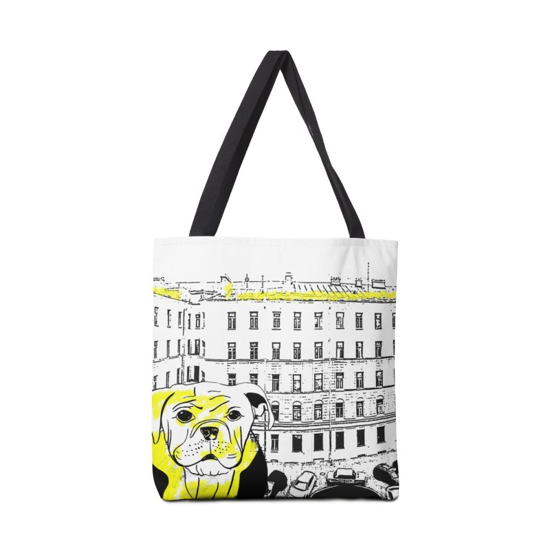 bulldog Accessories Bag by cutearts