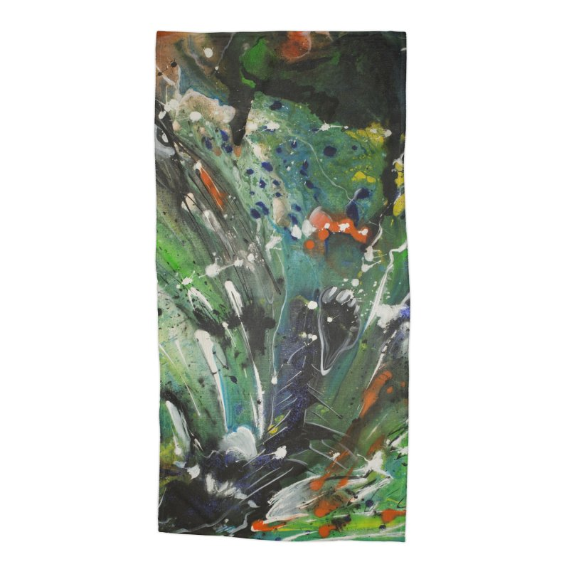 Fearless Accessories Beach Towel by Art By Poli