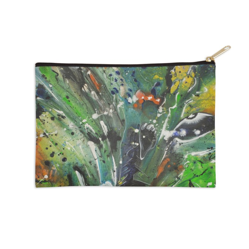 Fearless Accessories Zip Pouch by Art By Poli