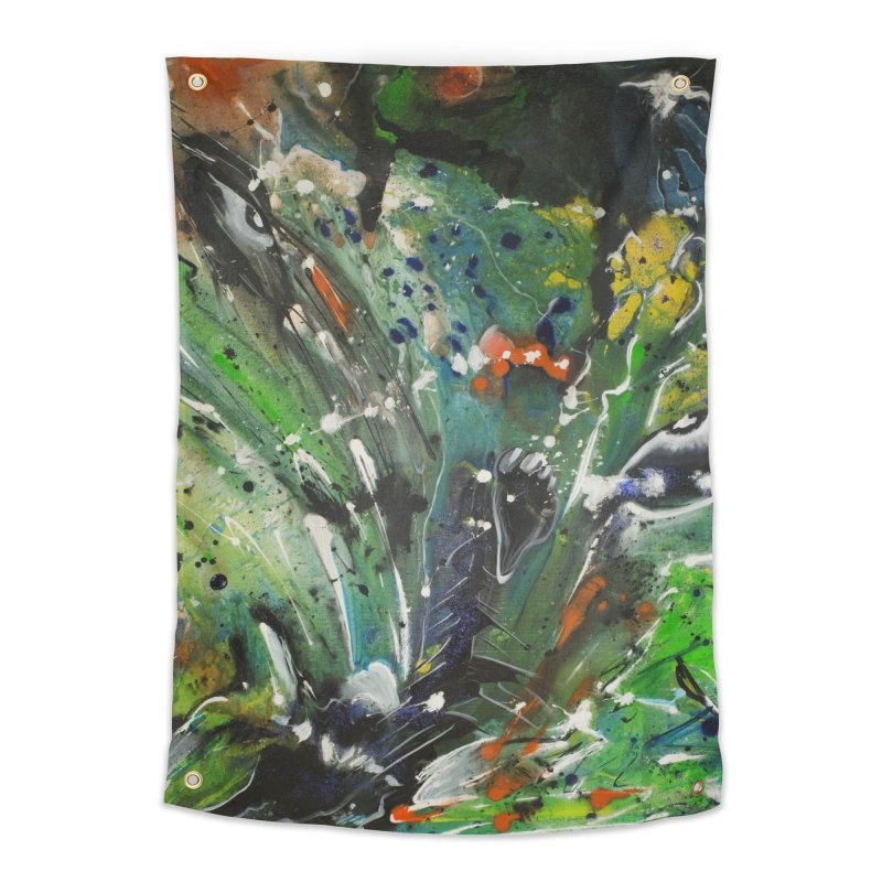 Fearless Home Tapestry by Art By Poli