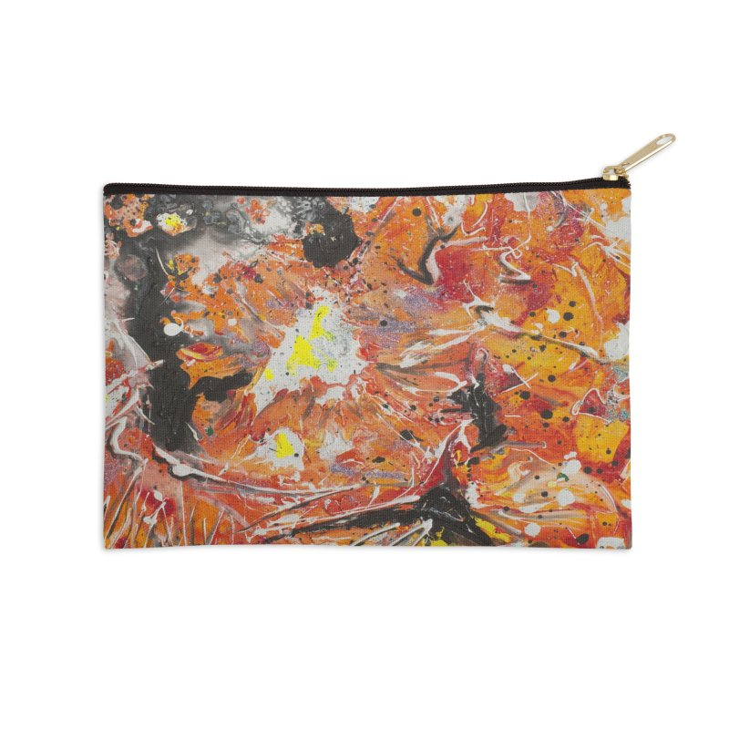Lava Accessories Zip Pouch by Art By Poli