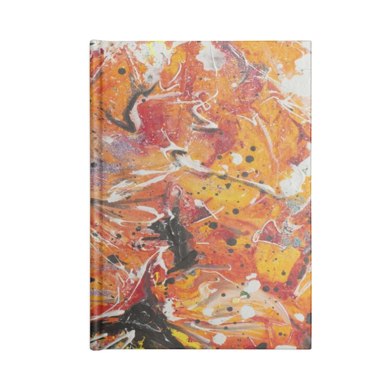 Lava Accessories Notebook by Art By Poli