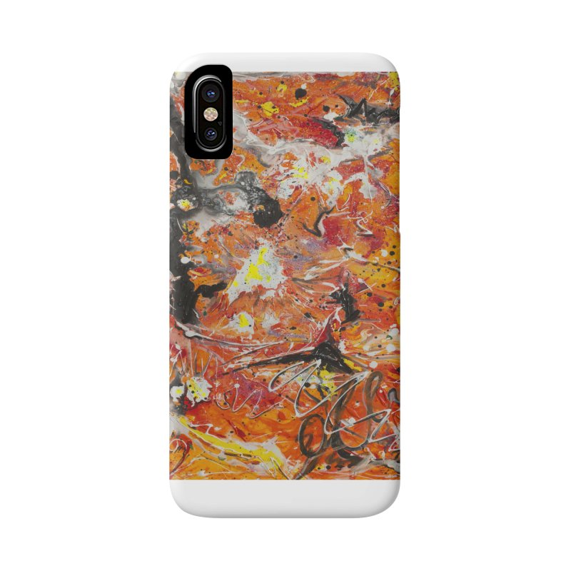 Lava Accessories Phone Case by Art By Poli