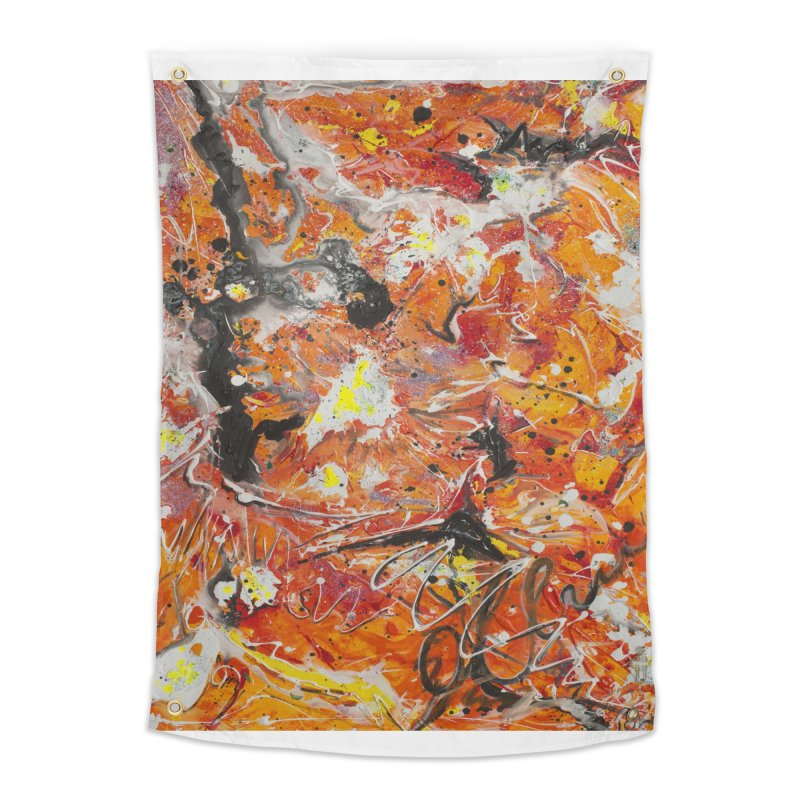 Lava Home Tapestry by Art By Poli