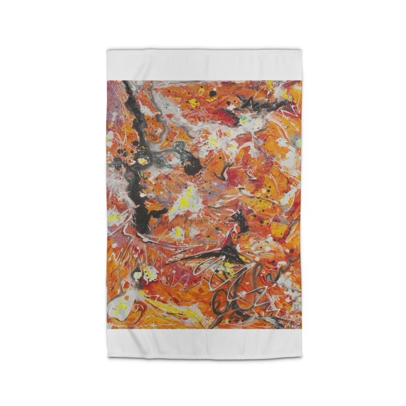 Lava Home Rug by Art By Poli