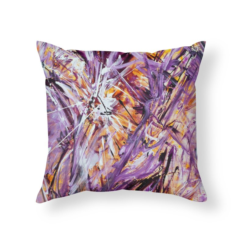 March Madness Home Throw Pillow by Art By Poli