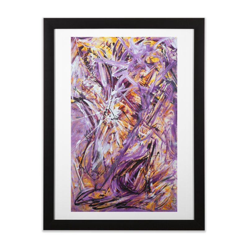 March Madness Home Framed Fine Art Print by Art By Poli