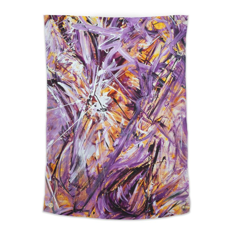 March Madness Home Tapestry by Art By Poli