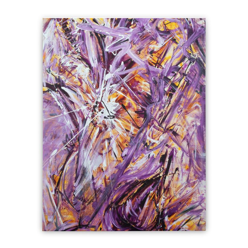 March Madness Home Stretched Canvas by Art By Poli