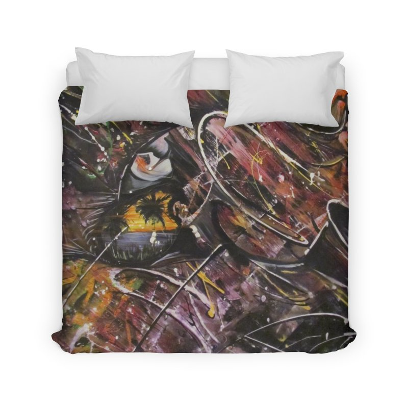 Oasis Home Duvet by Art By Poli