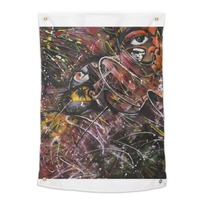 Oasis Home Tapestry by Art By Poli