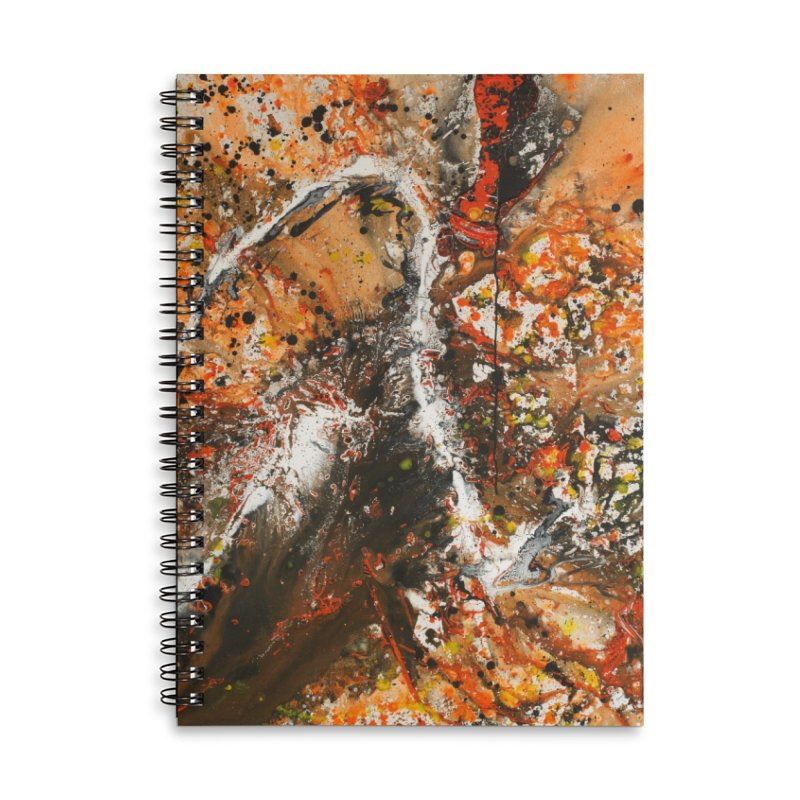 Ripe Accessories Lined Spiral Notebook by Art By Poli