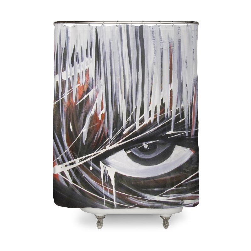 Secret Home Shower Curtain by Art By Poli