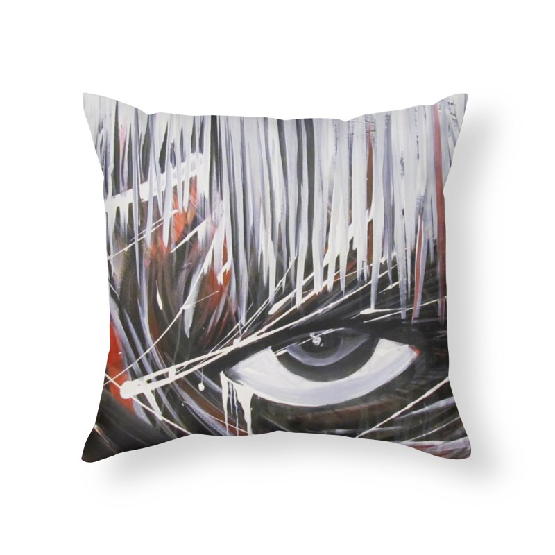 Secret Home Throw Pillow by Art By Poli
