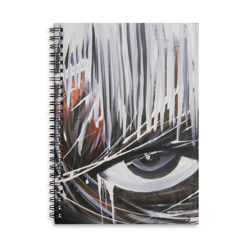 Secret Accessories Lined Spiral Notebook by Art By Poli
